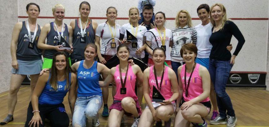 Žensko ekipno squash državno prvenstvo 2016