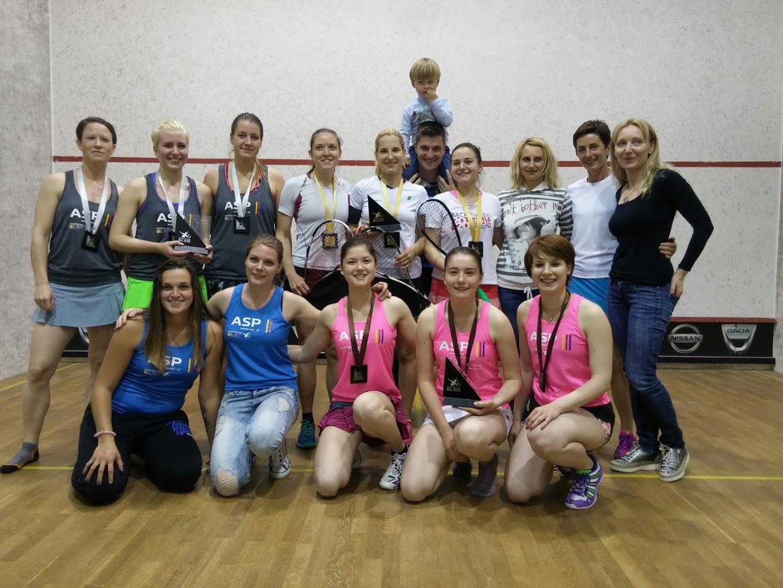 Žensko SQ ekipno DP 2016