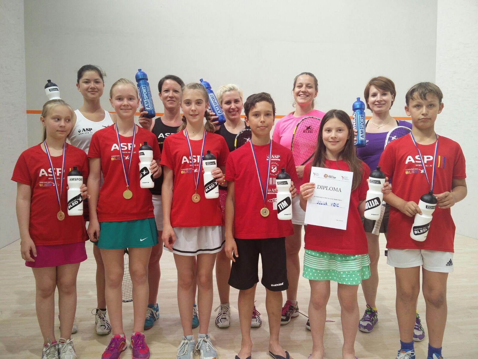 Reka – zaključni squash turnir in priprave