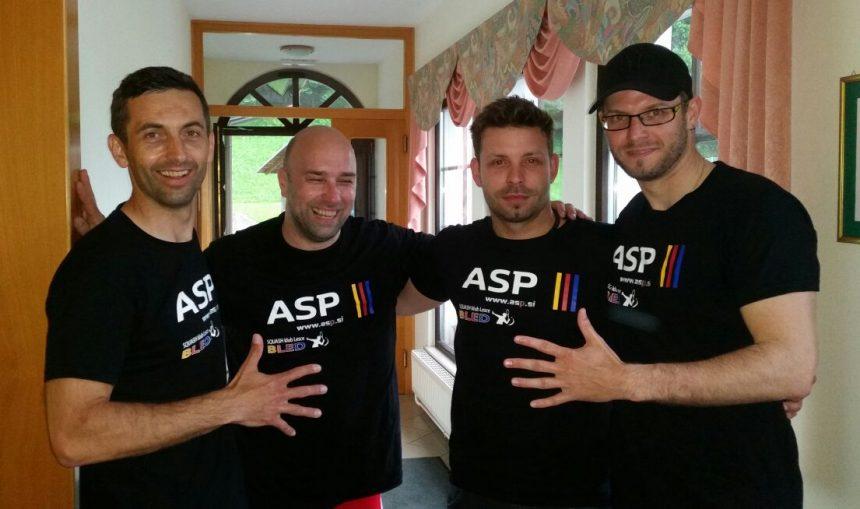 5.mesto za ekipo ASP Lesce na ekipnem squash državnem prvenstvu 2016