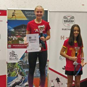 Nanja s svojo borbenostjo do zlata na GP HJO 2018