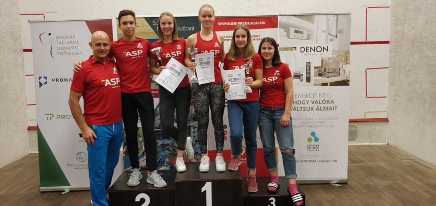 Zmagovalna dekleta na pohodu! :: HJO GP Budimpešta 2019
