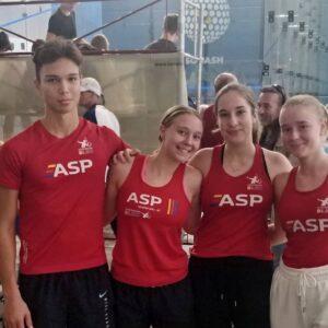 Naši mladinci pometli s konkurenco :: Heroes squash open 2021